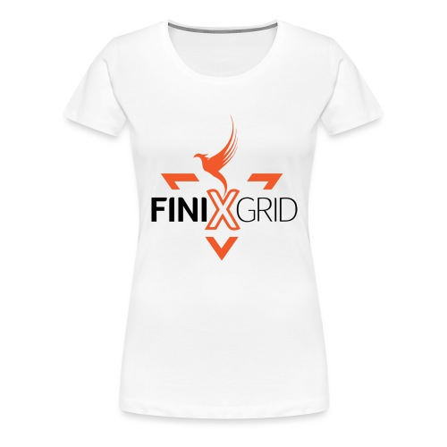 FinixGrid Orange - Women's Premium T-Shirt