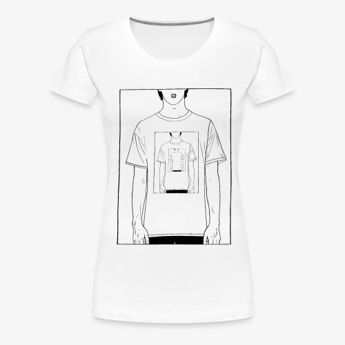 Recursion | Loop | Repeat design | Be creative - Women's Premium T-Shirt