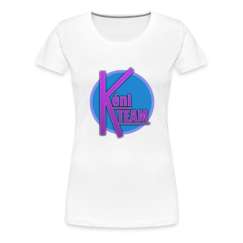 LOGO TEAM - T-shirt Premium Femme