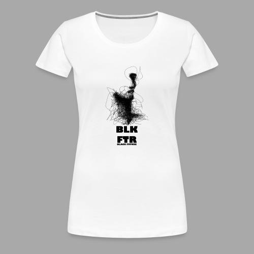 BLK FTR N°5 - Maglietta Premium da donna