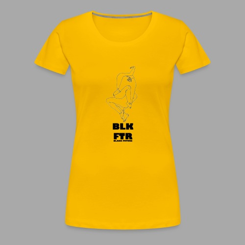 BLK FTR N°7 - Maglietta Premium da donna