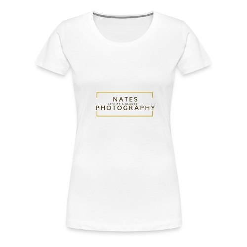 Nates photography 2.0 - Women's Premium T-Shirt