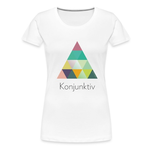 khpp7_Konjunktiv - Frauen Premium T-Shirt