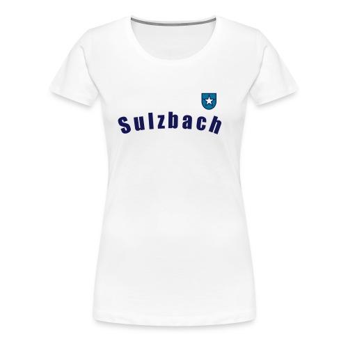 Wappen Sulzbach - Frauen Premium T-Shirt