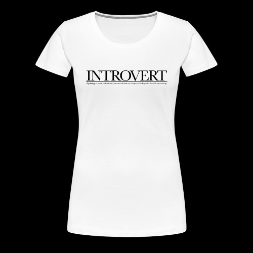 INTROVED WB - Women's Premium T-Shirt