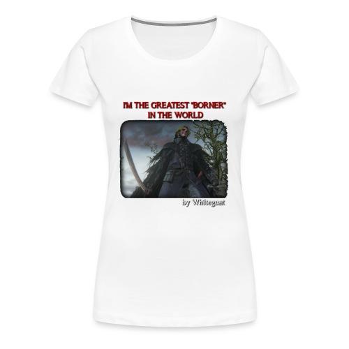BERTOLDO SHIRT CROP png - Maglietta Premium da donna