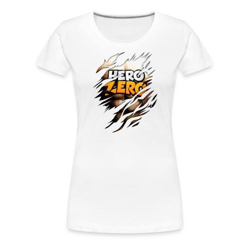 Hero Zero Brown Bright - Women's Premium T-Shirt
