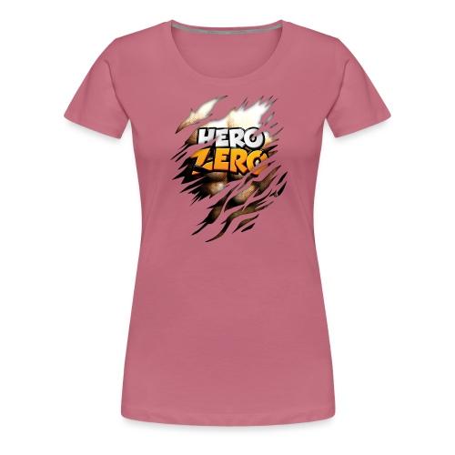Hero Zero Brown Bright - Women's Premium T-Shirt