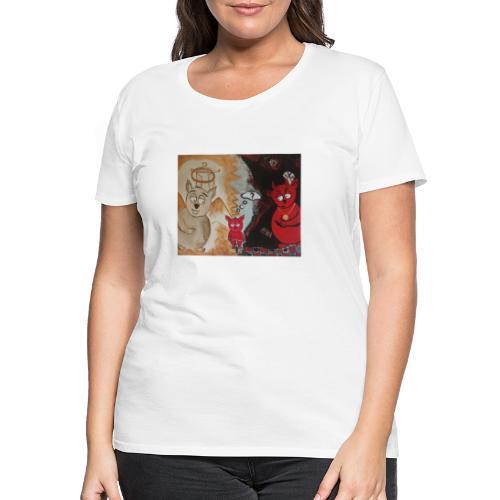 PÖLLYSKÄINEN - Naisten premium t-paita