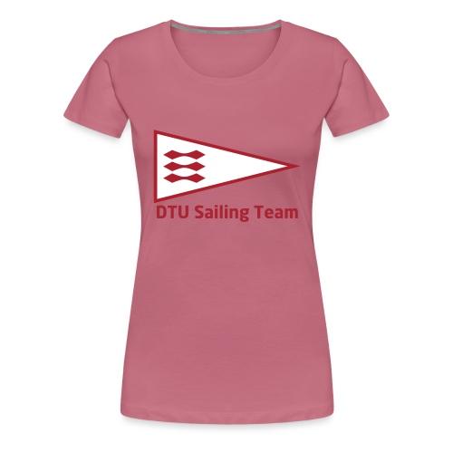 DTU Sailing Team Official Workout Weare - Women's Premium T-Shirt