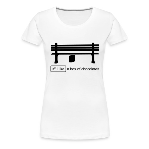 Like a box - Vrouwen Premium T-shirt