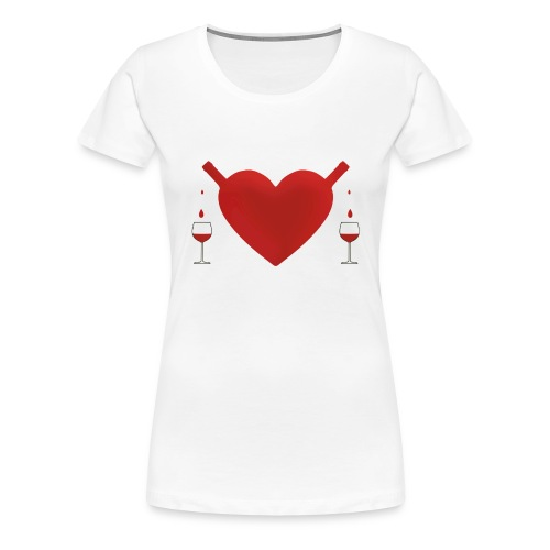 share good love - Women's Premium T-Shirt