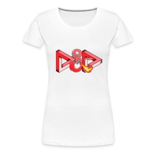 Neverending Game - Vrouwen Premium T-shirt