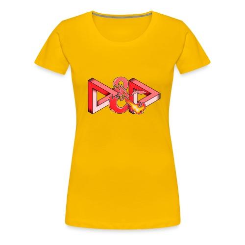 Pysyvät Dungeons and Dragons - dnd d & d - Naisten premium t-paita