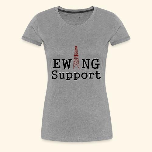 Ewing Support - Women's Premium T-Shirt