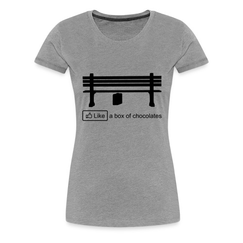 Like a box - Vrouwen Premium T-shirt