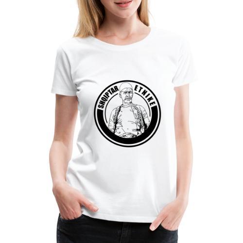 Albanien Kosovo Shqiptar Etnike Boletini - Frauen Premium T-Shirt