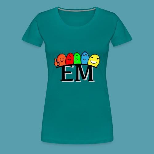 EM - Naisten premium t-paita