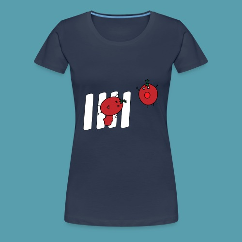 tomaatit - Naisten premium t-paita