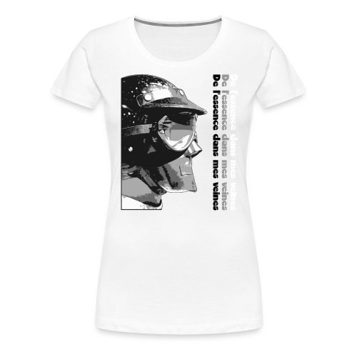 DLEDMV - Casque - T-shirt Premium Femme