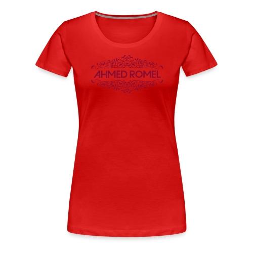 AR logo ful red png - Women's Premium T-Shirt