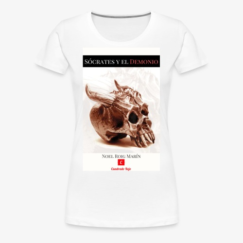 Sócrates y el Demonio - Camiseta premium mujer
