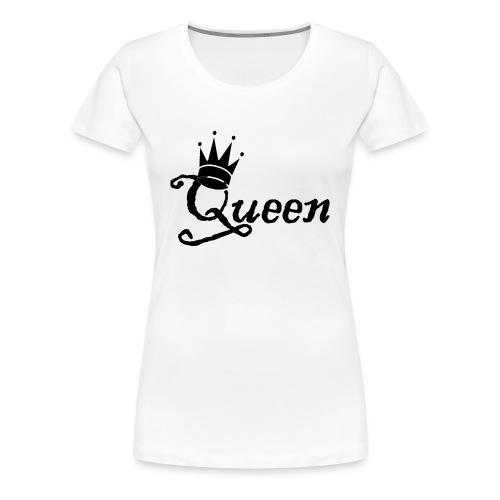Queen (Parejas l) - Camiseta premium mujer