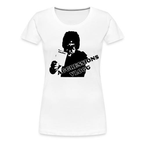 aggressionvlogg - Premium-T-shirt dam