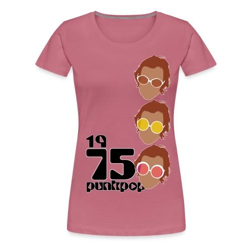 Elton PunkPop 1975 - Maglietta Premium da donna