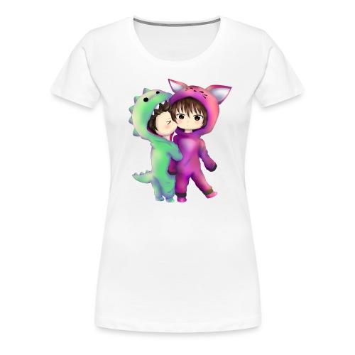 MexiKissFufu3 Kopie tshirt png - Frauen Premium T-Shirt