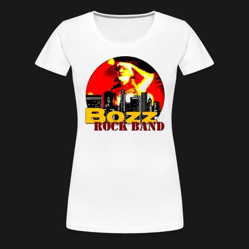 Bozz Rock Band - Frauen Premium T-Shirt