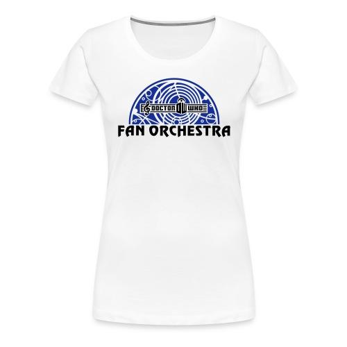 DWFO filled arc black-txt - Women's Premium T-Shirt
