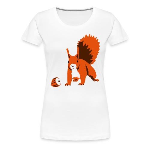Eichhoernchen - Frauen Premium T-Shirt