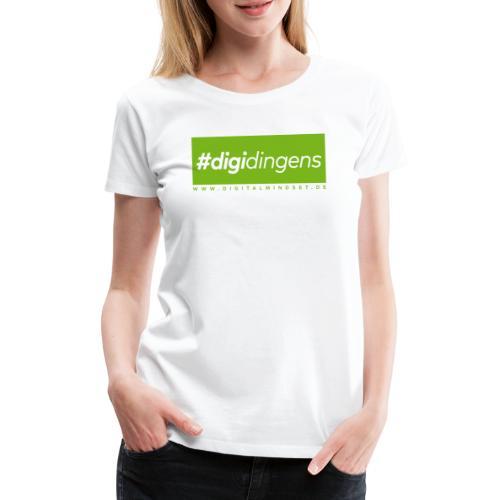 #digidingens - Frauen Premium T-Shirt