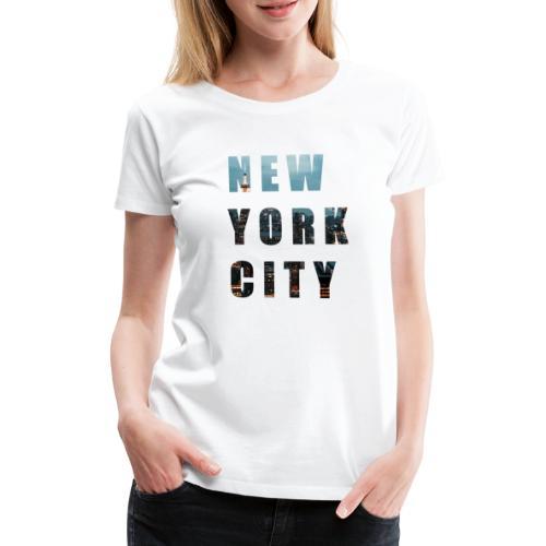 NEW YORK, New York photo, New York City - Women's Premium T-Shirt