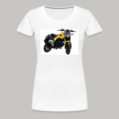 Grom Motorcycle (Monkey Bike) - Women's Premium T-Shirt