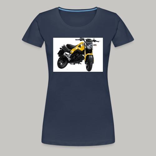 Grom Motorcycle (Monkey Bike) - Women's Premium T-Shirt