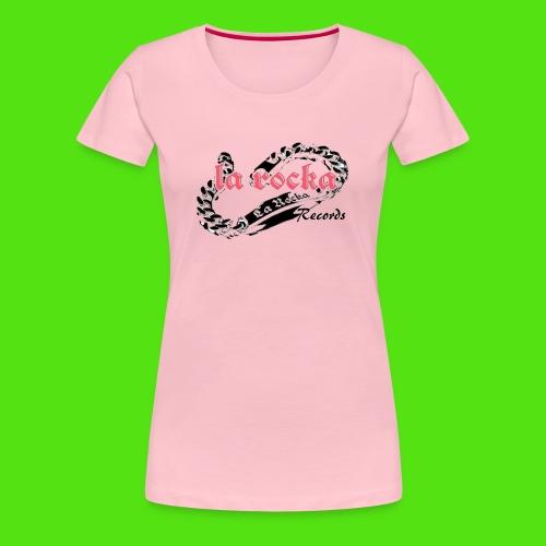La Rocka - white'n'pink2 - Women's Premium T-Shirt
