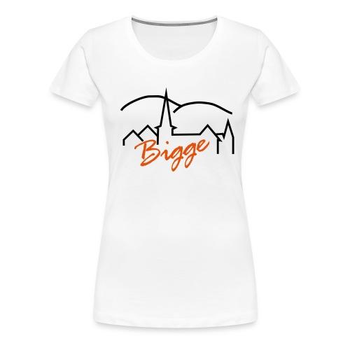 biggetshirtdruck - Frauen Premium T-Shirt
