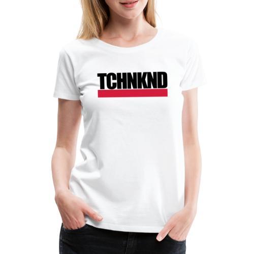 TCHNKND Technokind MNML Schriftzug - Frauen Premium T-Shirt