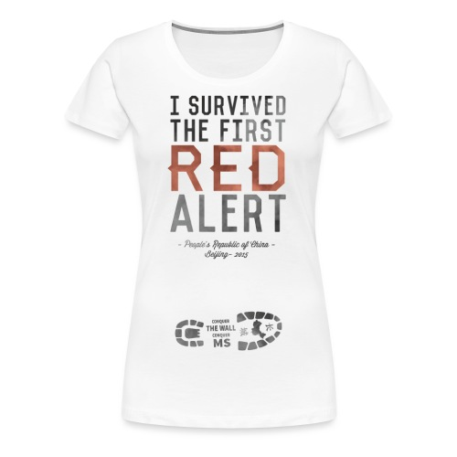 Red Alert T shirt - Women's Premium T-Shirt