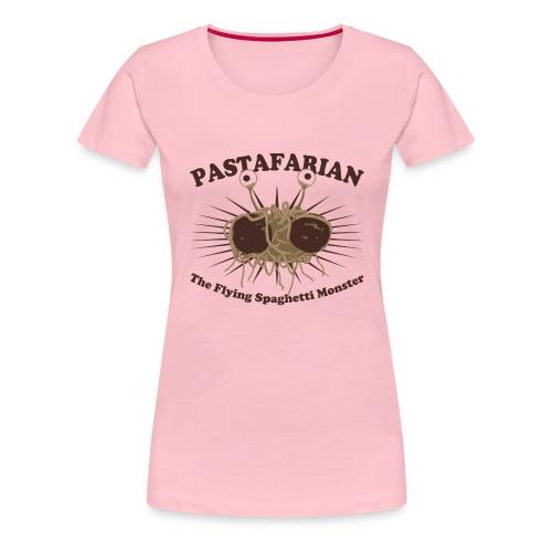 The Flying Spaghetti Monster - Women's Premium T-Shirt