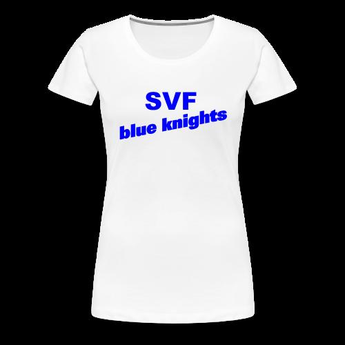 SVF-blue-knights blau - Frauen Premium T-Shirt