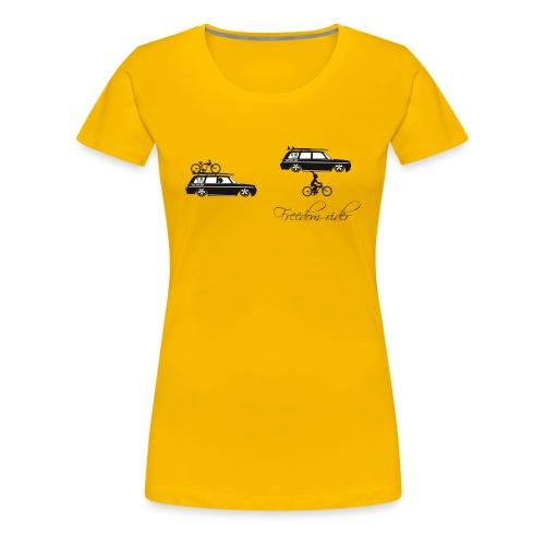 freedom rider - T-shirt Premium Femme