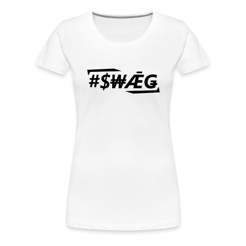 swagschwarz2 - Frauen Premium T-Shirt