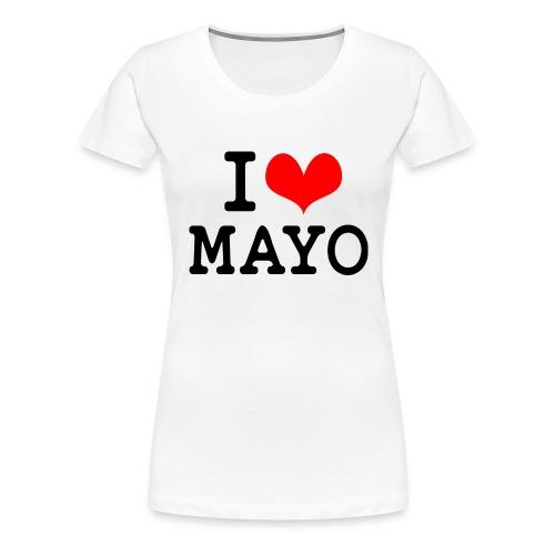 I Love Mayo - Women's Premium T-Shirt
