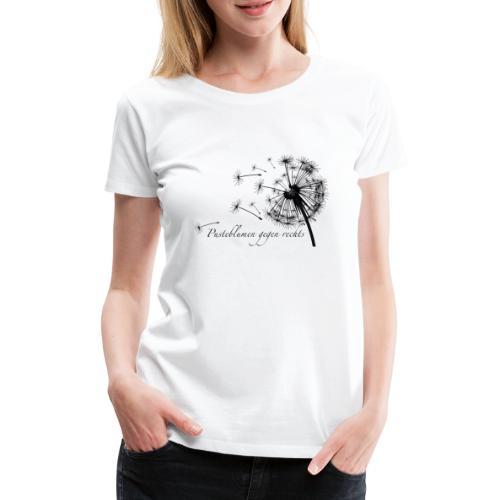 Pusteblumen gegen rechts II - Frauen Premium T-Shirt