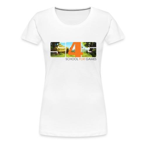 S4G landscape fauns trial png - Frauen Premium T-Shirt