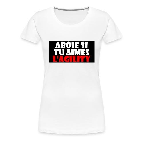 abois agy - T-shirt Premium Femme