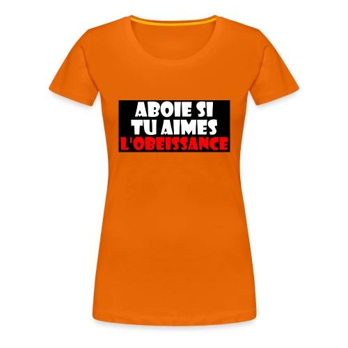 abois ob - T-shirt Premium Femme